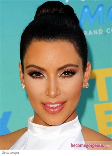 kim kardashian glam makeup pictures kim kardashian makeup kim kardashian glam