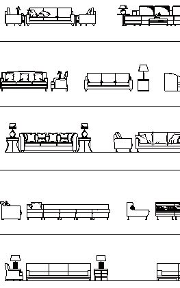 sofa elevation cad block sofas and armchairs elevation cad blocks architecture