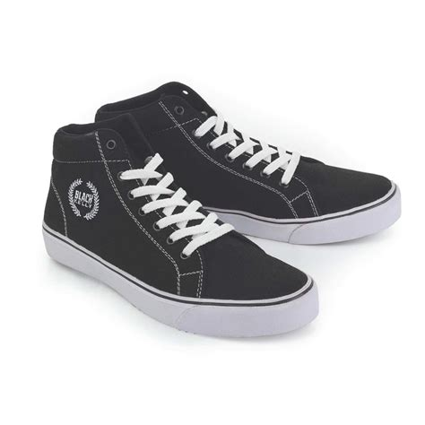 sepatu sneakers kets klasik hitam bahan canvas lng 085 sepatu sneakers kets klasik pria ldo 356 original