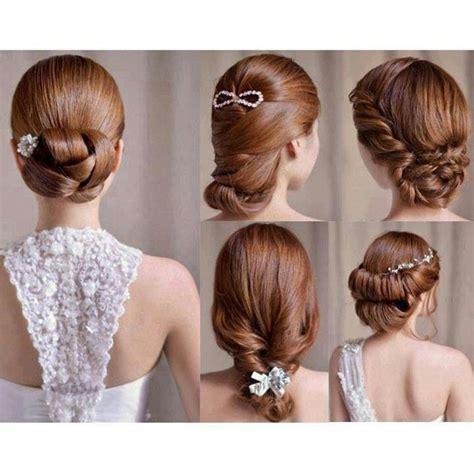 tutorial rambut terurai aneka gaya rambut untuk resepsi pernikahan
