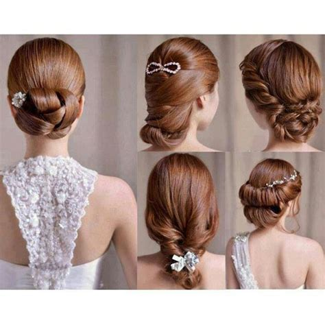 tutorial rias rambut simple 65 model gaya rambut pengantin wanita modern dan terbaru