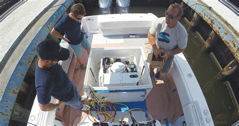 seakeeper gyro stabilizer  smaller boats power motoryacht