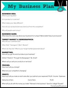 Business Plan Template For Tech Startup by Home Sweet Road Business Ideas For Series Writing