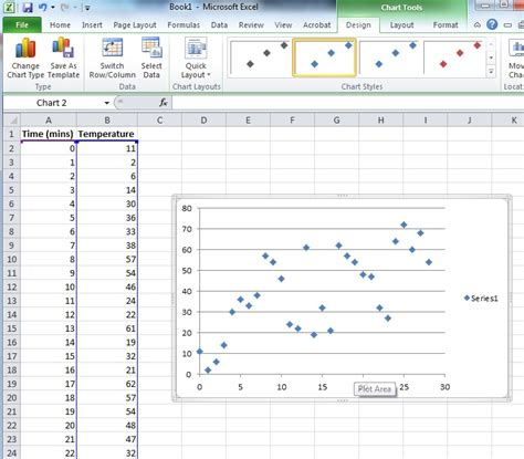 scatter diagram excel how to create a scatter plot in powerpoint