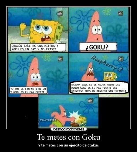 imagenes de goku que den risa te metes con goku desmotivaciones