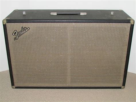 Fender Bassman Cabinet by 1965 Fender Bassman 2 X 12 Cabinet Orig Oxford 12t