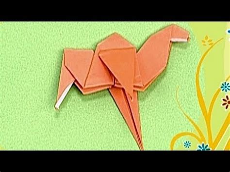 How To Make A Camel Out Of Paper - how to make a paper camel tutorial paper friends 14