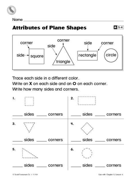 plane and solid figures worksheets 1st grade solid 3d