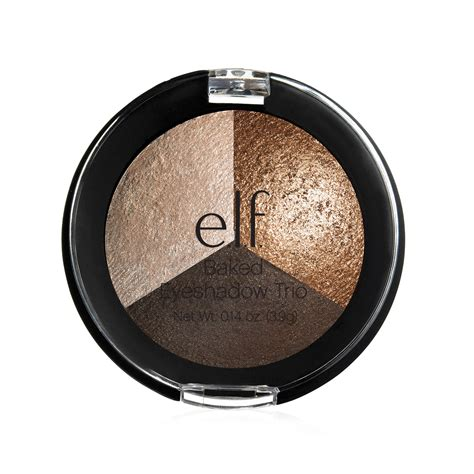 Eyeshadow E e l f cosmetics baked trio eyeshadow brown bonanza 0 14 oz 3 9 g iherb