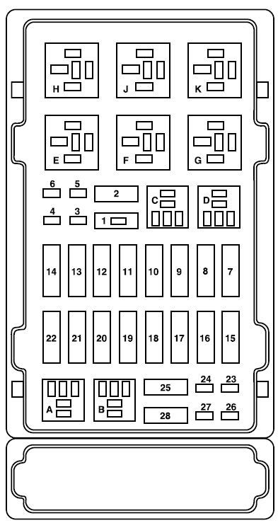2006 ford e350 fuse panel diagram 2006 ford e250 fuse panel diagram wiring diagram and