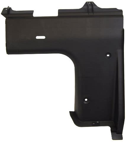 toyota camry lh trunk partition panel black aa
