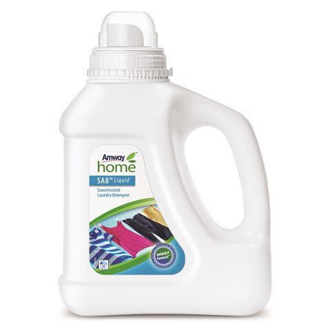 Liquid Concentrated Laundry Detergent Sa8 Amway Laundry Uk