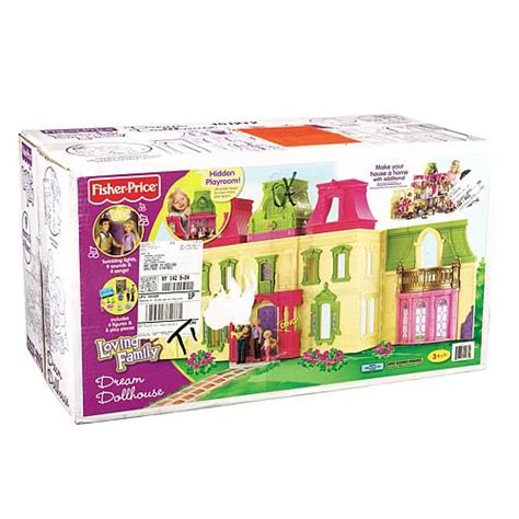 fisher price loving family dream doll house loving family dream dollhouse fisher price loving family playsets at