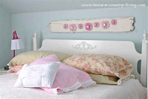 How To Make A Pillow by Diy Vintage Style Pillow Cases Town Country Living