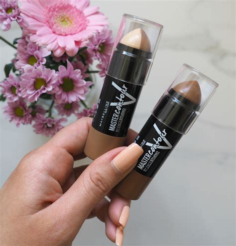 Maybelline Contour Stick maybelline master contour v shape duo stick review