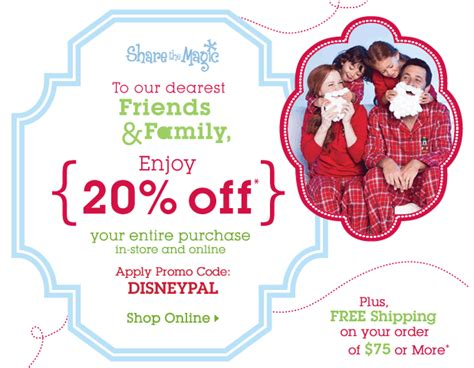 disney outlet printable coupons disney store 20 off your entire purchase natural thrifty