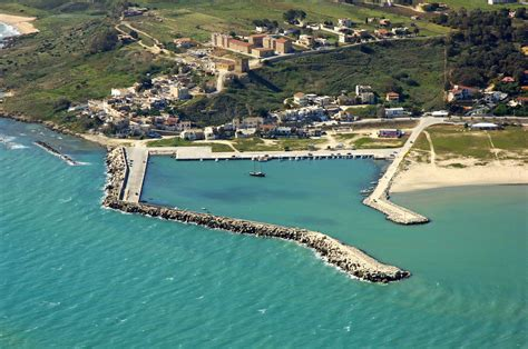 porto palo di menfi marina in porto palo sicily italy