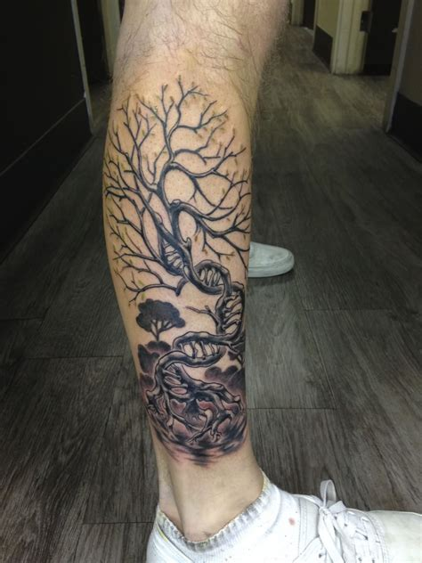 tattoo ink without metal yin yang tree tattoo on upper back by miss jade