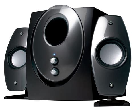 Speaker Komputer sp 2001 black 2 1 multimedia pc speakers
