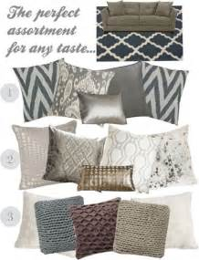 Decorative Pillows For Sofa Best 25 Pillow Arrangement Ideas On