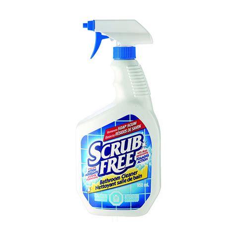Shower Spray Cleaner by Scrub Free Bathroom Cleaner Spray 946ml Ebay
