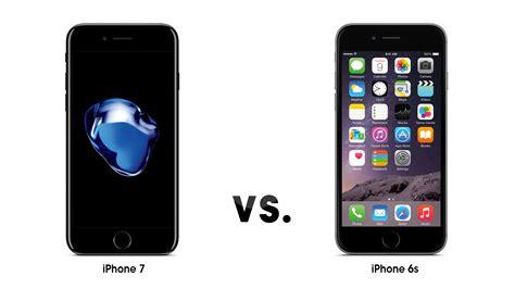 iphone 7 ve iphone 6s karşılaştırması log
