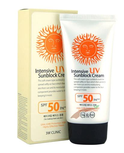 Murah 3w Clinic Sunblock Spf 50 oh the sun review intensive uv sunblock 3w clinic joisu s take