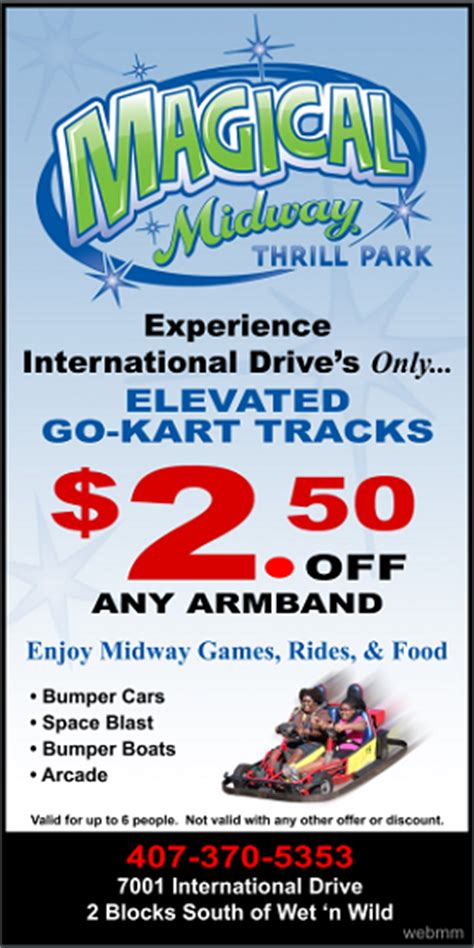 theme park coupons magical midway orlando coupons 2018 printable coupons