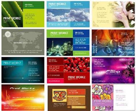 contoh design kartu nama simple contoh desain kartu nama unik dan keren