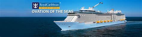 royal caribbean cruises royal caribbean s ovation of the seas cruise ship 2017