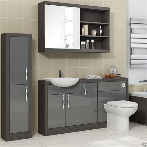 Toilet And Sink Vanity Units by Bathroom Fitted Furniture 1500mm Vanity Unit With Toilet