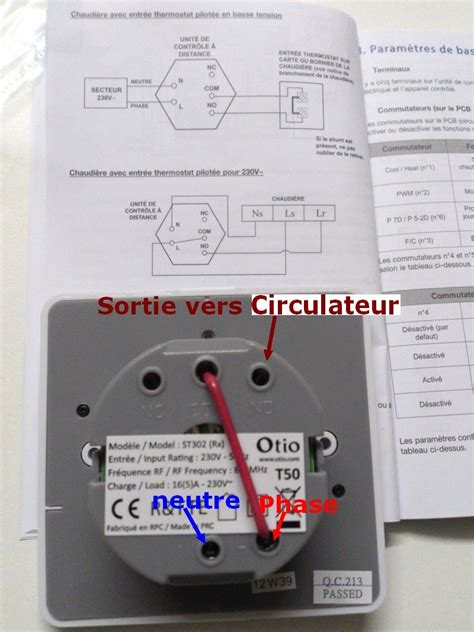 Thermostat Chaudiere 1998 by R 233 Solu Brancher Un Thermostat D Ambiance Sur Geminox Tl