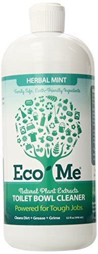 Eco Me Floor Cleaner by Eco Me Toilet Bowl Cleaner Herbal Mint 32 Fluid Ounce