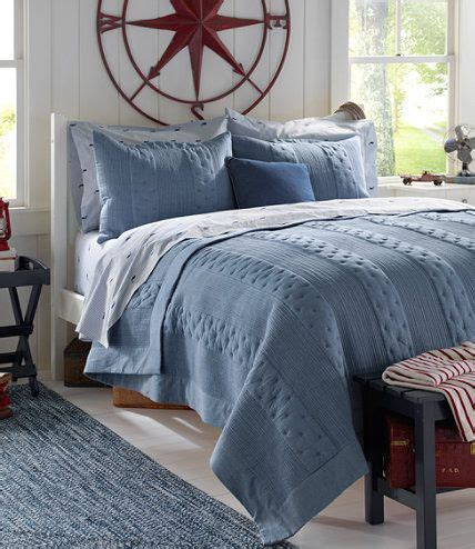 llbean comforters crescent beach chambray quilt quilts free shipping at l