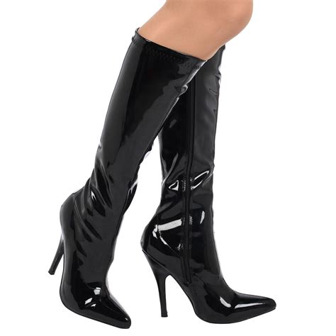 high heels boots for womens boots knee high heels stiletto pointed