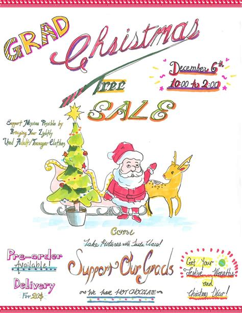 grad christmas tree sale this sat dec 6 sogo