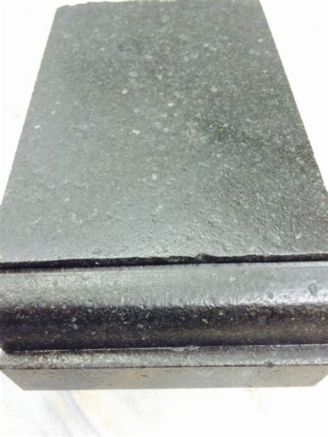 Countertop Edge Finishes by Leathered Finish Black Granite Dupont Square Edge Profile These Countertops Will Be On Coffee