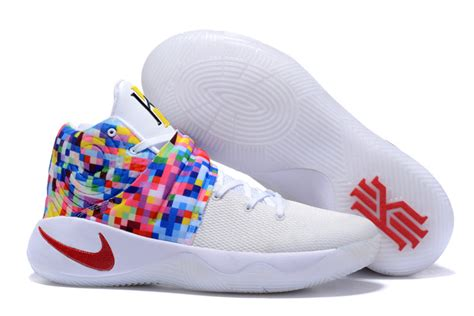 nike basketball womens shoes cheap nike kyrie 2 effect white multi color womens