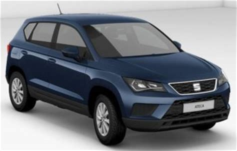 seat ateca blue the seat ateca w livingstone ltd