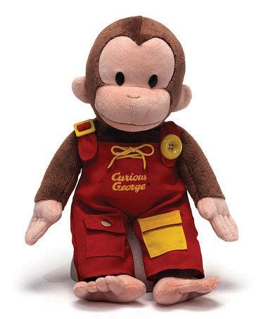 Georges Overall curious george gund curious george overall teach me 16