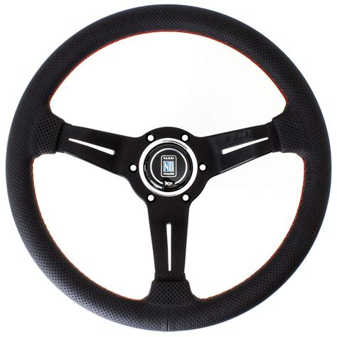 steering wheel nardi corn steering wheel perforated leather with
