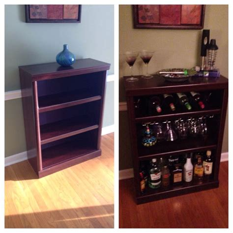 bookcase bar diy bookcases bookcase