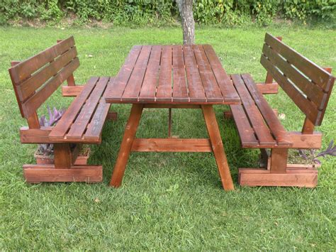panchine in legno da esterno tavoli per l esterno in legno tavolo da giardino con