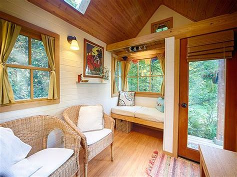 bayside bungalow tiny house built using tumbleweed fencl my happy life in 160 square feet fireplaces nooks and