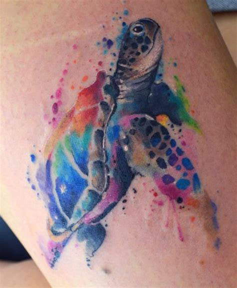 spectacular watercolor tattoos and how to create them