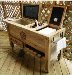 patio cooler plans wood project ideas instant get how to build wood chest