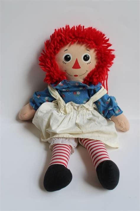 hi 5 rag doll vintage raggedy doll hasbro softies plush rag doll