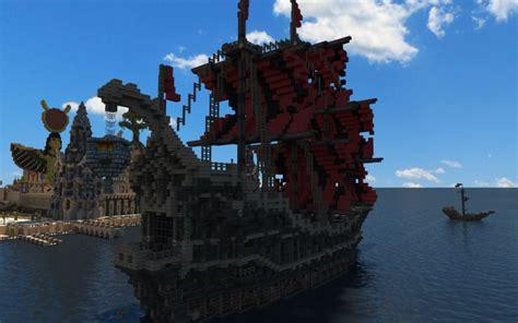 minecraft boat gate fantasy minecraft ship minecraft ships pinterest