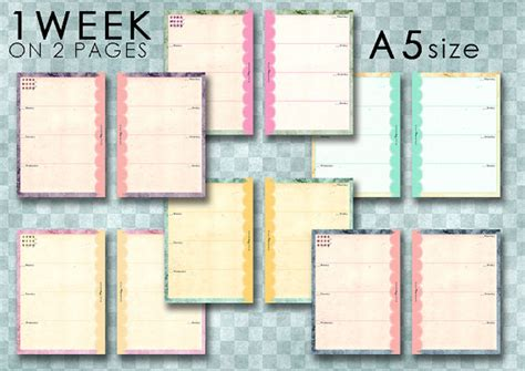 61 best filofax and free printables images on pinterest 5 best images of filofax printable forms personal size