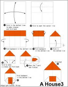 origami house pliage pinterest house easy origami instructions for kids